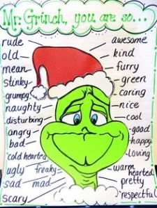 grinch vocab